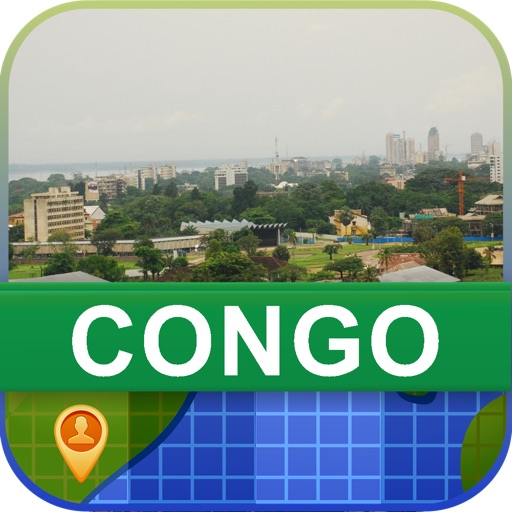 Offline Congo Map - World Offline Maps