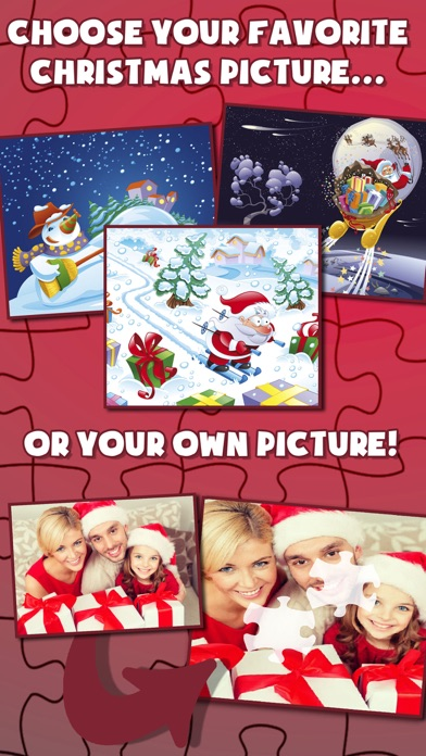 Christmas Slide Magic Puzzle screenshot two