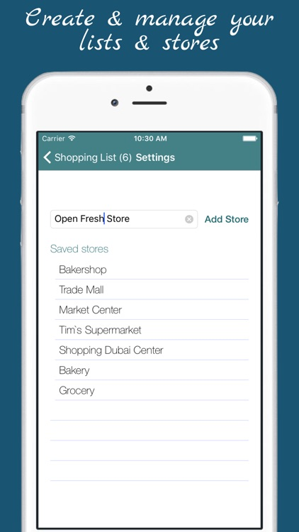 Shopping List - multiple grocery shop lists screenshot-4