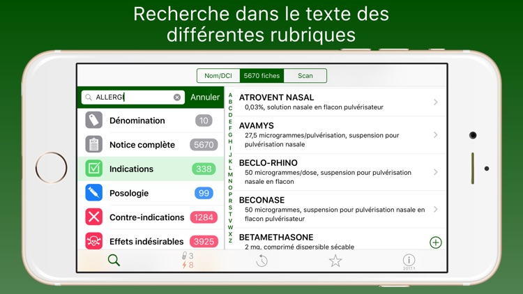 Médicaments 2017 screenshot-2