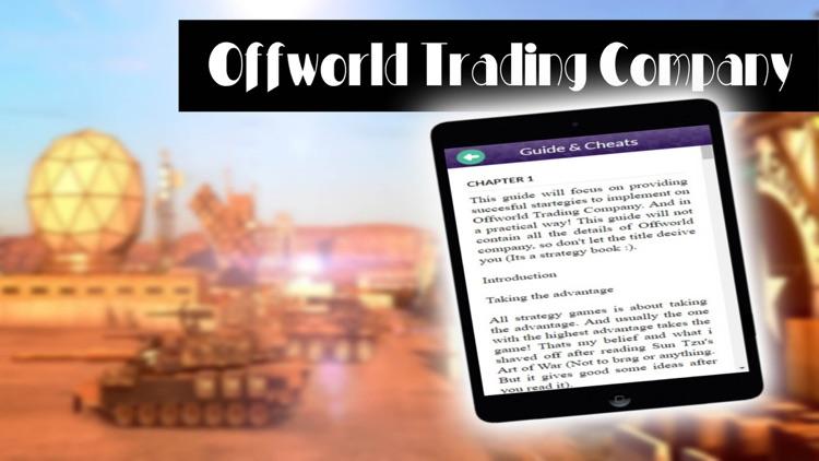 PRO - Offworld Trading Company Game Version Guide