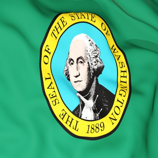 Washington Flag Stickers