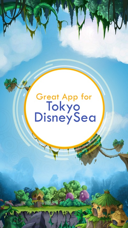Great App for Tokyo DisneySea screenshot-0