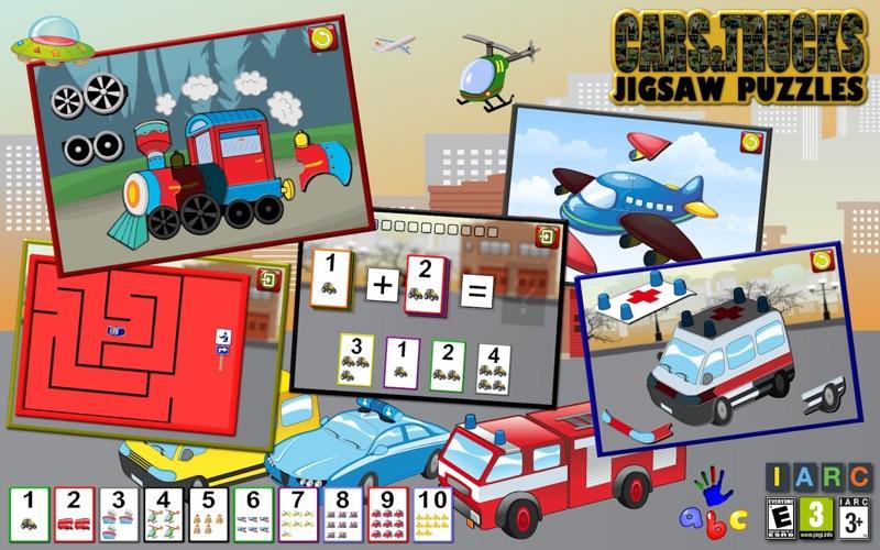 vorschule pkw lkw und motor puzzle spiele für pc  windows