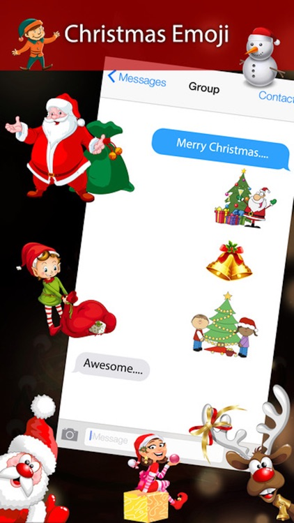 Holiday 3D emojis - Animated Christmas emoji Pro screenshot-3