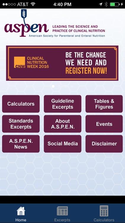 A.S.P.E.N. Clinical App