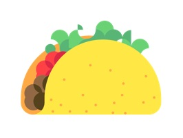 Taco Spin Stickers