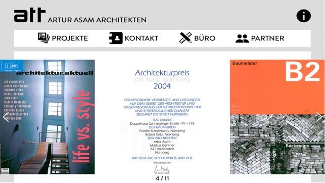 att architekten on the app store. Black Bedroom Furniture Sets. Home Design Ideas
