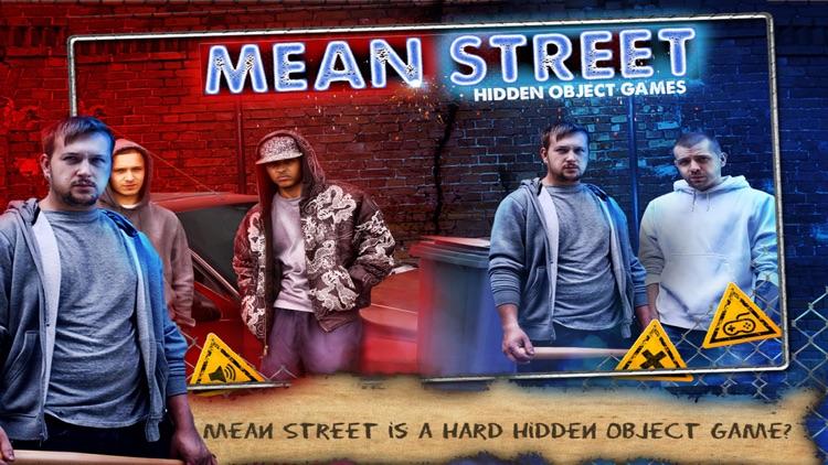 Hidden Object Games Mean Street screenshot-3