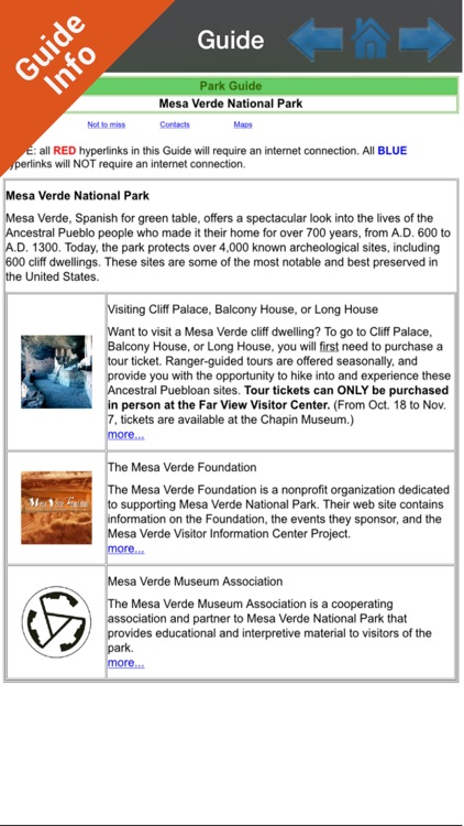 Mesa Verde Park  GPS and outdoor map with guide screenshot-4
