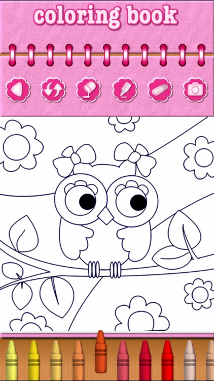 Cute Animal Coloring Book Game screenshot-3