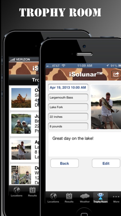 iSolunar™ Hunting & Fishing Times Free screenshot-3