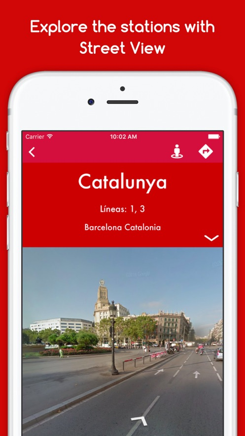 EasyMetro TMB Barcelona - The Barcelona Metro App 截图