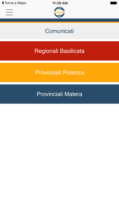 LND Basilicata screenshot two
