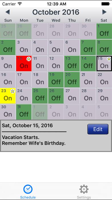 download CopApp ! Calendar Schedule Repeating Shift App apps 3
