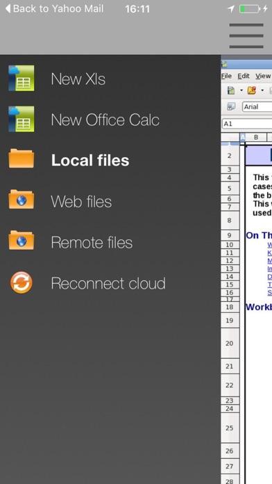 XOffice Xls Office-Suite - Open Office Xls FernScreenshot von 4