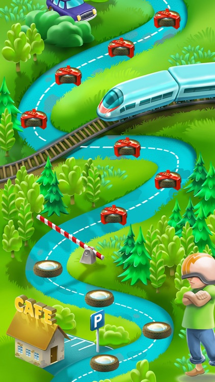 Cars Puzzle Adventure Travel