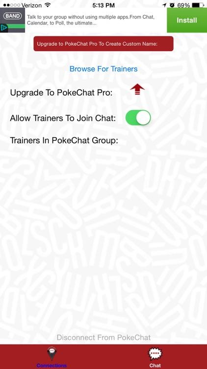 PokeChat: Chat Companion For Pokemon Go screenshot-3
