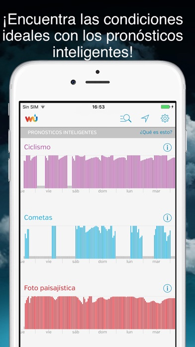 Screenshot for Weather Underground in Peru App Store