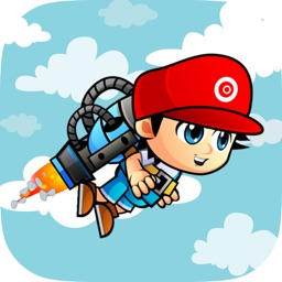 Happy Jetpack Wing - Fly Float keep Star in Sky