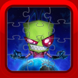 Alien Monster Jigsaw Puzzles for Kids and Toddlers