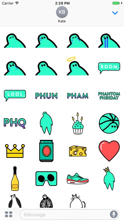 Phantom Stickers