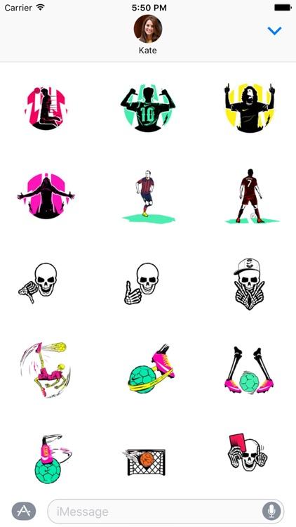 Football Sticker Pack