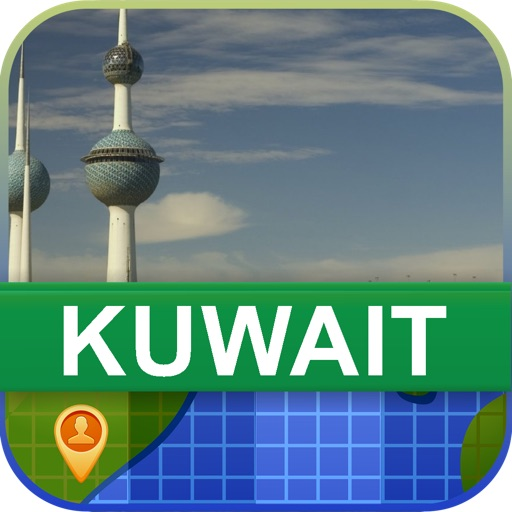 Offline Kuwait Map - World Offline Maps