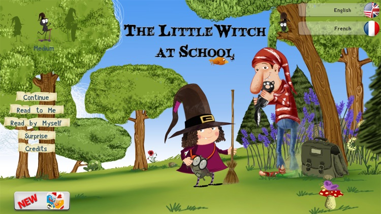 The Little Witch at School screenshot-0