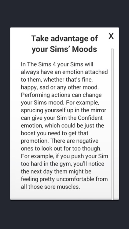 Cheats for The Sims 4 Tips & Tricks
