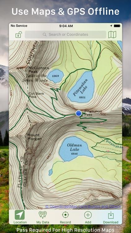 Topo Maps+ app image