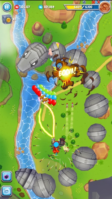 Screenshot #9 for Bloons Supermonkey 2