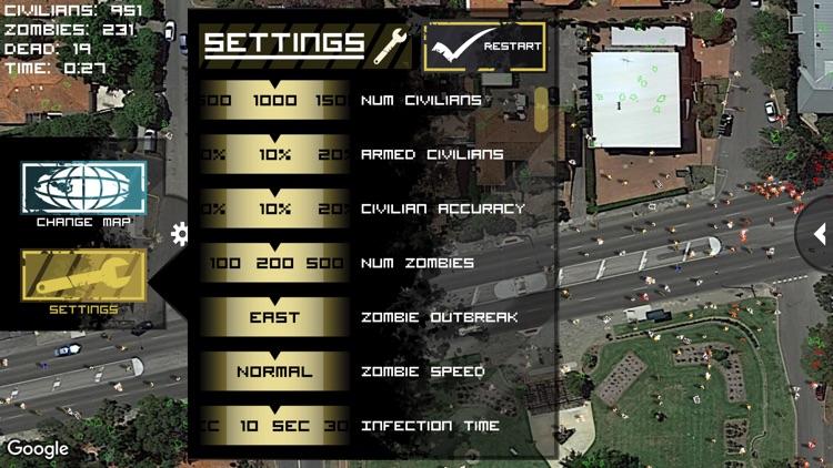 Zombie Outbreak Simulator screenshot-3