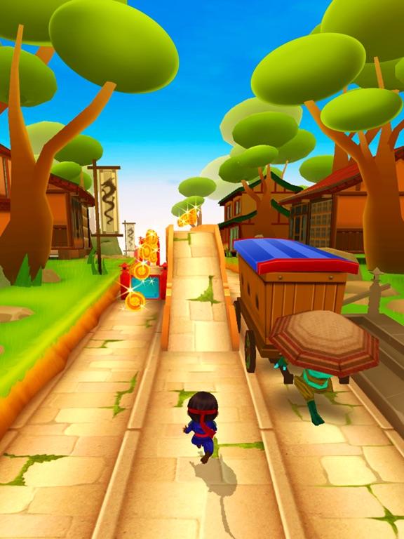 Hиндзя Pебенок бесплатно - игры гонки для детей на iPad