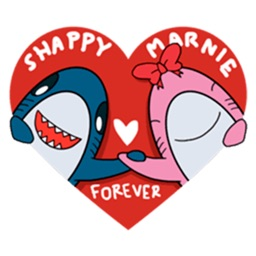 Sharks Love! Lovely Stickers!