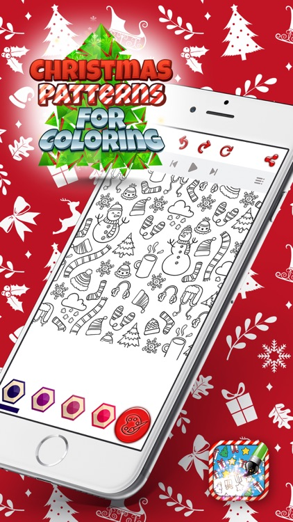 Christmas Patterns for Coloring