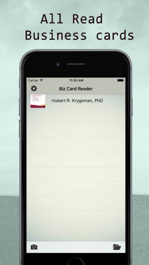 Business Card Scanner Scan Card Im App Store