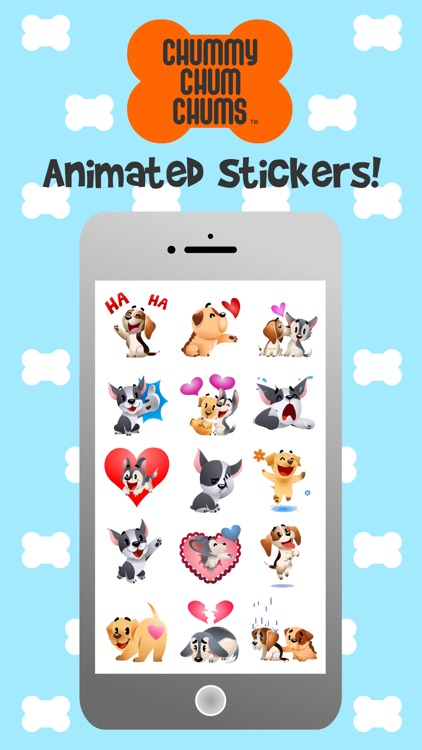 Chummy Chum Chums Animated Stickers