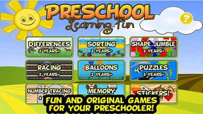 Preschool Learning Fun
