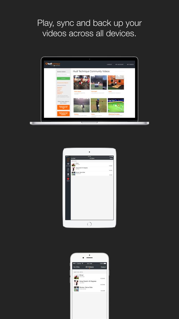 Hudl Technique Screenshot