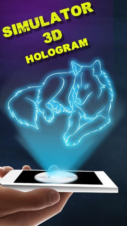 Simulator 3D Hologram Funny Prank