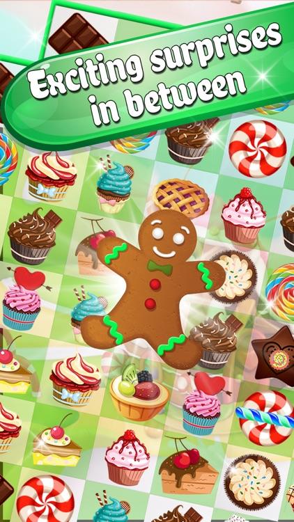 Cake Valley Sweet Blast - Match 3 Cookie Pop Blitz screenshot-3