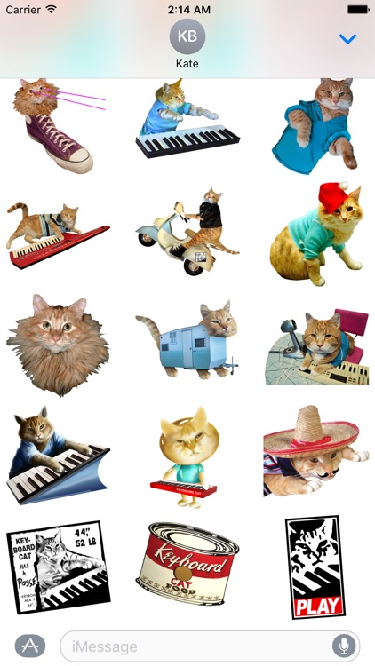 Keyboard Cat Stickers! screenshot-2