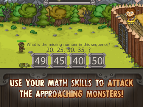 King of Math Defense - náhled