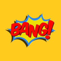 Bang! Comic Book Stickers