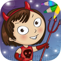 Sevimli Canavarlar Boyama Sayfalari App Store Da