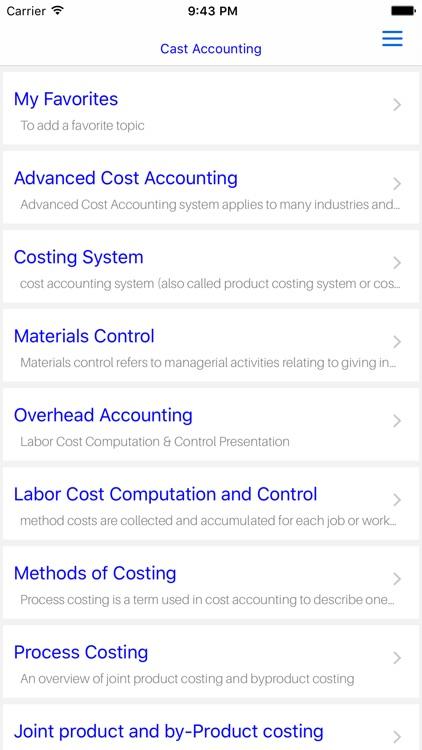 MBA Cost Accounting screenshot-4