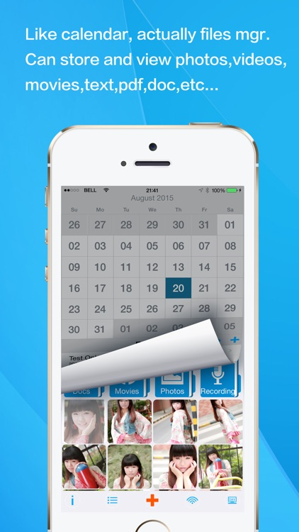 Calendar For Safe Photo Vault: Lock, Hide Pictures