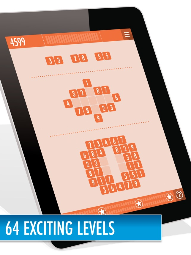 10 Seeds - Numbers puzzle game Screenshot