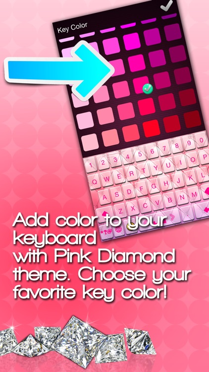 Pink Keyboard Themes: Pimp My Keyboards For iPhone screenshot-3